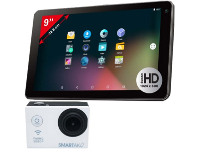 SMARTAK TAB900C - Tablette 9 pouces Android