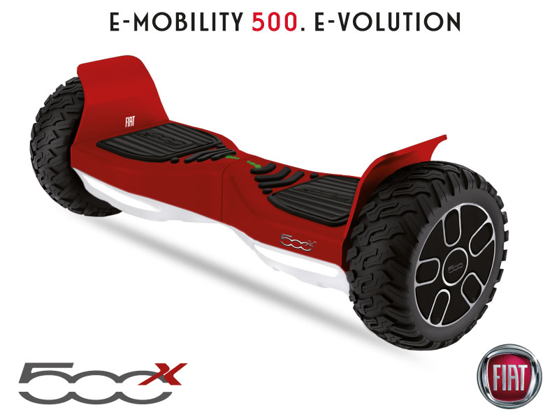 MOBILITE URBAINE - Gamme FIAT Hoverboard Rouge-FIAT--500-8-5Rouge.