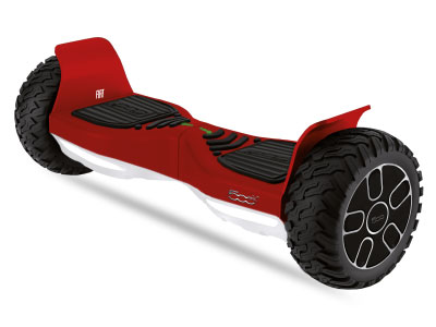 MOBILITE URBAINE - Gamme FIAT Hoverboard-FIAT--500-8-5Rouge.