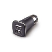 Boite Philips Chargeur allume-cigare double USB DLP2011