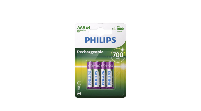 Emballage Philips Pile Rechargeable AAA R03B4A70