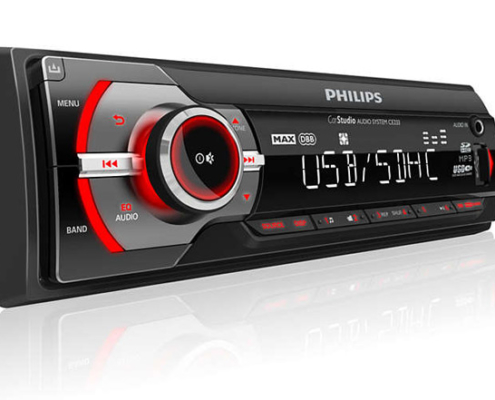 Philips Autoradio CarStudio USB/SDHC/MP3 CE233-01