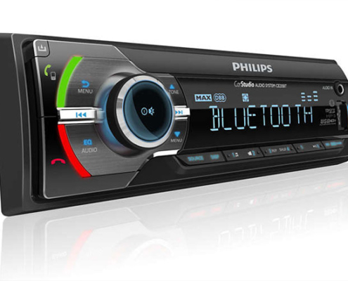 Philips Autoradio CarStudio USB/SDHC/MP3/BLUETOOTH CE235BT-01