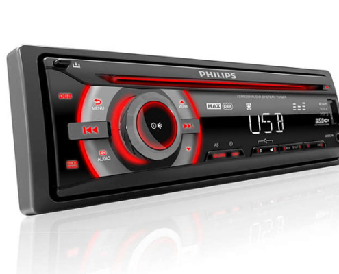 Philips Autoradio CarStudio CD/USB CEM2200-01