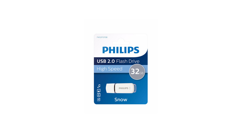 Philips Clé USB 32Go Snow edition 2.0 PHMMD32GBS200