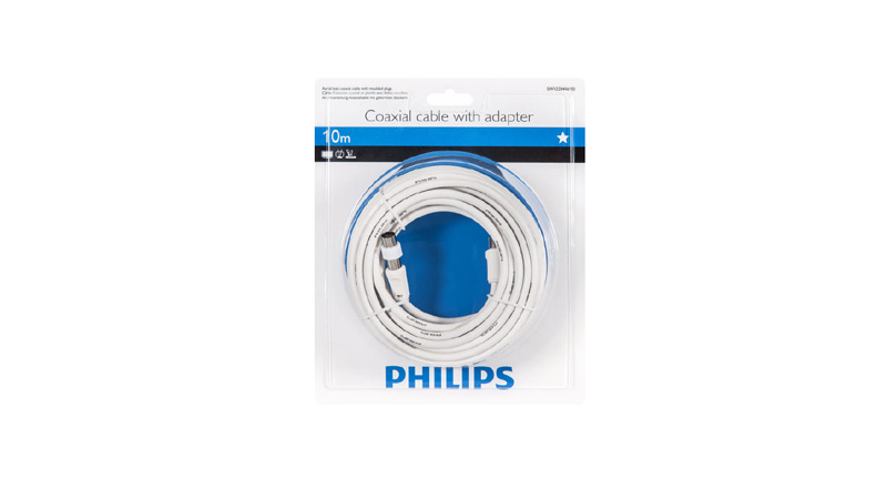 Philips Câble coaxial 10m PAL SWV2204W
