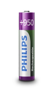 Piles Philips R03B4A95 Rechargeables