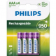 Piles rechargeables Philips R03B4A95