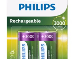 Piles Philips Rechargeables C