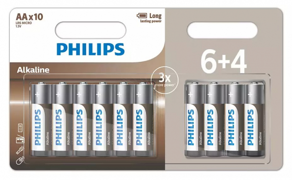 pile entry alcaline Philips