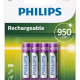 PILES RECHARGEABLE PHILIPS R03B4A95