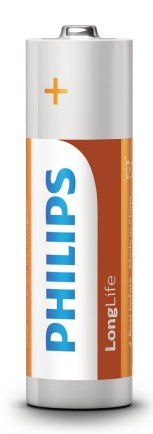 Piles Philips LongLife AA R6L36FVPiles Philips LongLife AA R6L36FV